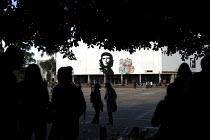 Che Guevara mural at the Universidad Nacional Bogota, Colombia. - Jess Hurd - 08-02-2008