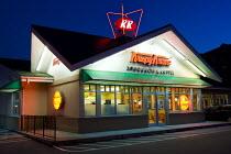 Krispy Kreme Doughnut diner. Atlanta, Georgia, USA. - Jess Hurd - 17-06-2008