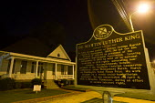 Dr Martin Luther King's house, where he stayed during the bus boycott. Montgomery, Alabama, USA. - Jess Hurd - 2000s,2008,ACE,ace culture,African American,African Americans,America,Anti Racism,BAME,BAMEs,bigotry,black,BME,BME Black minority ethnic American,bmes,bus,bus service,BUSES,civil rights,culture,DISCRI