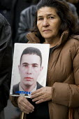 Maria mother of Jean Charles de Menezes joins the 8th annual protest march against death in custody, by the United Families and Friends Campaign (UFFC) London. - Jess Hurd - 2000s,2008,abuse,activist,activists,adult,adults,against,BAME,BAMEs,BME,bmes,brutality,CAMPAIGN,campaigner,campaigners,CAMPAIGNING,CAMPAIGNS,custody,death,deaths,DEMONSTRATING,DEMONSTRATION,DEMONSTRAT