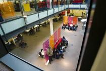 People wait for job interviews. Job Centre Plus, Newham, East London. - Jess Hurd - 2000s,2008,agency,benefit,benefits,cities,city,employee,employees,Employment,job,Jobcentre Plus,jobless,jobs,jobseeker,jobseekers,LAB,LAB LBR Work,LBR,look,looking,male,man,Marginalised,men,people,per