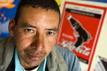 Oscar Giraldo Arango Ys, executive Sinaltrainal, and plaintif against Coca Cola, Bogota, Colombia. - Jess Hurd - 09-02-2008