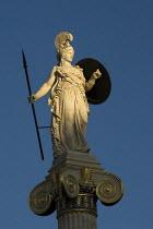 Statue of the Goddess Athena, the Greek Goddess of War and Wisdom, Athens, Greece - Jess Hurd - 19-12-2008