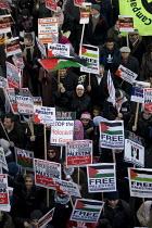 Stop the Bombing: Free Palestine. National Demonstration. London. - Jess Hurd - 03-01-2009