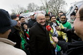Valentines Day Aid Convoy leaves London for Gaza. George Galloway MP and hundreds of British volunteers are driving the Viva Palestina aid convoy of over 100 donated vehicles packed with practical aid... - Jess Hurd - 2000s,2009,activist,activists,CAMPAIGN,campaigner,campaigners,CAMPAIGNING,CAMPAIGNS,communicating,communication,DEMONSTRATING,demonstration,DEMONSTRATIONS,DRIVER,DRIVERS,driving,interview,INTERVIEWED,