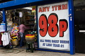 The 98p Shop. East London. - Jess Hurd - 25-05-2009