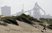 The Corus Redcar steelworks at Redcar Co Cleveland which is to be mothballed with the loss of over 2000 jobs after parent company Tata announced the cancellation of 4 major contracts for it's slab ste... - Jess Hurd - 12-05-2009