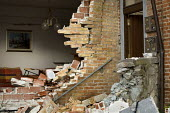 Damage to houses sustained during the earthquake in LAquila. Italy. - Jess Hurd - 10-07-2009
