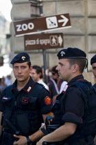 G8 demonstrations Rome. Italy. - Jess Hurd - 07-07-2009