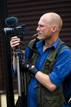 Jason Parkinson, videographer. - Jess Hurd - 21-08-2009