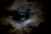 Full moon and corona in the sky. London. - Jess Hurd - 05-08-2009