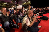 Press photographers at Labour Party Conference 2009. Brighton. - Jess Hurd - 29-09-2009