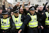 English Defence League march in Leeds - Jess Hurd - 2000s,2009,abusive,activist,activists,adult,adults,against,aggressive,anti,bigotry,CAMPAIGN,campaigner,campaigners,CAMPAIGNING,CAMPAIGNS,CLJ,Defence,DEFENSE,DEMONSTRATING,demonstration,DEMONSTRATIONS,