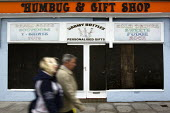 The closed Humbug and Gift Shop, Hastings. - Jess Hurd - 2000s,2009,bought,buy,buyer,buyers,buying,closed,closing,closure,closures,COAST,coastal,coasts,commodities,commodity,consumer,consumers,customer,customers,derelict,DERELICTION,DOWNTURN,EBF,EBF Economy