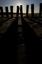 Beach breakers on the Calais beach at the nearest point to Dover. France. - Jess Hurd - 2000s,2009,beach,BEACHES,coast,coastal,coasts,costal defences,eni,ENI Environmental Issues,environment,Environmental Issues,eroded,erosion,eu,Europe,european,europeans,eurozone,france,french,groyne,gr