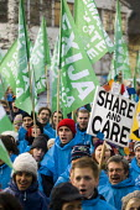 Protests against COP15 United Nations Climate Change Conference, Copenhagen 2009, Denmark. - Jess Hurd - 2000s,2009,activist,activists,against,agencies,agency,aid,assistance,CAMPAIGN,campaigner,campaigners,CAMPAIGNING,CAMPAIGNS,charitable,charities,charity,Climate Change,Conference,conferences,danish,DEM