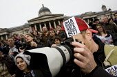 Up to 3000 people join the Im a Photographer Not a Terrorist Mass Gathering in Trafalgar Square in defence of street photography and against the arbitary use of the terrorism laws to stop and search p... - Jess Hurd - 23-01-2010