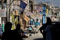 Haiti earthquake. Port-au-Prince. Haiti. - Jess Hurd - 18-01-2010