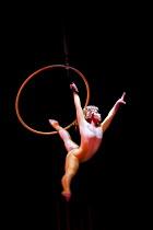 Artists perform at the Cirque du Soleil - Varekai - Royal Albert Hall, London. - Jess Hurd - ,2010,2010s,ACE Arts Culture & Entertainment,acrobat,acrobatics,acrobats,circus,cities,city,performance,performer,performers,performing,urban