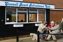Sizewell Power Station Beach Refreshment Cafe. - Jess Hurd - 24-04-2010
