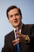 George Osborne. Press Conference responding to unemployment figures announced today. Milband, London. - Jess Hurd - 21-04-2010