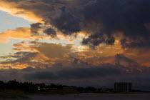 Tropical storm rolls into Long Beach, Mississippi. USA. - Jess Hurd - 12-08-2010