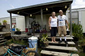 Donny and Angel Matsler victims of the BP Gulf Oil disaster, with symptoms of chemical poisoning. Dauphin Island, Alabama. USA. - Jess Hurd - 17-08-2010