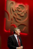 Gordon Brown farewell speech. Labour Party Conference. Manchester. - Jess Hurd - 25-09-2010