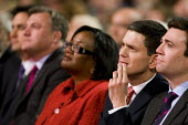 David Miliband as brother Ed Miliband is elected Labour Leader, Labour Party Conference. Manchester. - Jess Hurd - 2010,2010s,BAME,BAMEs,Black,BME,bmes,diversity,ethnic,ethnicity,FEMALE,Labour Party,Leader,minorities,minority,mp,mps,Party,people,person,persons,poc,POL Politics,politician,politicians,woman,women