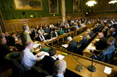 Jeremy Corbyn MP chairs the Lawful Industrial Action (Minor Errors) Bill lobby. Introduced by John McDonnell MP, the Private Members Bill is campaigning to repeal part of the anti-trade union laws whi... - Jess Hurd - 13-10-2010