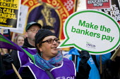 Make he bankers pay Coalition of Resistance march against the coalition government's proposed cuts to the public sector and welfare. - Jess Hurd - 2010,2010s,against,austerity cuts,Benefit cuts,Coalition,ConDem,cuts,member,member members,members,people,PROTEST,Protest Demonstrsation,protests,public,trade union,trade union,Trade Unions,trades uni
