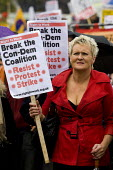 Right to Work demonstration. Conservative Party Conference. Birmingham. - Jess Hurd - 03-10-2010