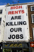 High Rents are Killing Our Jobs, due to the economic crisis. Dublin, Ireland. - Jess Hurd - 14-11-2010