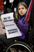 Protest over housing benefit & rent reforms. Defend Council Housing. Downing Street, London. - Jess Hurd - 2010,2010s,activist,activists,against,austerity cuts,Benefit cuts,bound,box,boxes,CAMPAIGN,campaigner,campaigners,CAMPAIGNING,CAMPAIGNS,cardboard box,Council,cuts,DEMONSTRATING,DEMONSTRATION,DEMONSTRA