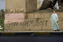 Game Over Mubark, Uprising against Mubarak, Cairo, Egypt. - Jess Hurd - 30-01-2011