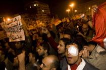 Stop US support for Mubarak. Uprising against Mubark, Al-Tahrir (Liberation Square), Cairo, Egypt - Jess Hurd - 30-01-2011