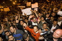 Uprising against Mubark, Al-Tahrir (Liberation Square), Cairo, Egypt - Jess Hurd - 30-01-2011