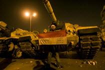Uprising against Mubarak, Al-Tahrir (Liberation Square), Cairo, Egypt - Jess Hurd - 31-01-2011