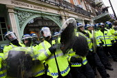 Police defend Fortnum and Mason as protesters occupy the building. - Jess Hurd - 2010s,2011,activist,activists,adult,adults,against,anti,Austerity Cuts,CAMPAIGN,campaigner,campaigners,CAMPAIGNING,CAMPAIGNS,CLJ,confront,confrontation,confronted,confronting,DEMONSTRATING,demonstrati