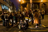 Hundreds attend a Facebook organised kiss-in outside John Snow pub after James Bull and Jonathan Williams were asked to leave on Wednesday night by a staff member who allegedly described the couple's... - Jess Hurd - 15-04-2011