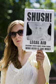 Defend Legal Aid - National day of Action, Supreme Court, Parliament Sq. - Jess Hurd - 03-06-2011