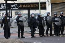 Riots spread to Hackney following the fatal police shooting of Mark Duggan, East London. - Jess Hurd - 08-08-2011