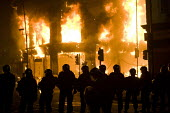 Riots in Tottenham. Riot police clashed with hundreds of rioters after the fatal shooting of Mark Duggan, 29, who was killed by police on Thursday. North London. - Jess Hurd - 2010s,2011,adult,adults,arson,blaze,building,buildings,burn,burning,BURNS,cities,city,CLJ,conflict,conflicts,destroyed,destruction,fire,fires,flame,flames,force,MATURE,metropolitan police service,Offi