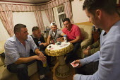 Poker night at Dale Farm after winning a High Court injunction delaying the eviction. Basildon, Essex. - Jess Hurd - 19-09-2011