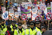 Strike by public sector workers over pensions. London. - Jess Hurd - 30-11-2011