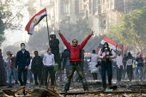 Uprising against the military junta. Al-Tahrir (Liberation Square), Cairo, Egypt - Jess Hurd - 23-11-2011