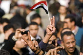 Election day protests against the military junta. Al-Tahrir (Liberation Square), Cairo, Egypt - Jess Hurd - 28-11-2011