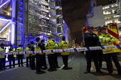 Fire crews are sent to check the Iraqi Rafidain Bank in London main financial district. City of London. - Jess Hurd - 27-01-2012