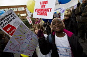 Haringey Save Our Schools demonstration, save our community schools, say no to privatisation, say no to forced acadamies. North London. - Jess Hurd - 2010s,2012,Academies,Academy,activist,activists,against,anti,BAME,BAMEs,Black,BME,bmes,CAMPAIGN,campaigner,campaigners,CAMPAIGNING,CAMPAIGNS,child,CHILDHOOD,children,communities,community,DEMONSTRATIN