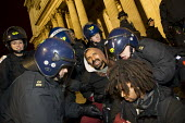 Police make arrests during the Occupy LSX eviction, St. Pauls Cathedral. London. - Jess Hurd - 28-02-2012